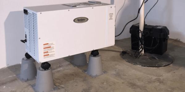 Dry Otter Waterproofing | Basement Dehumidifiers | Aprilaire