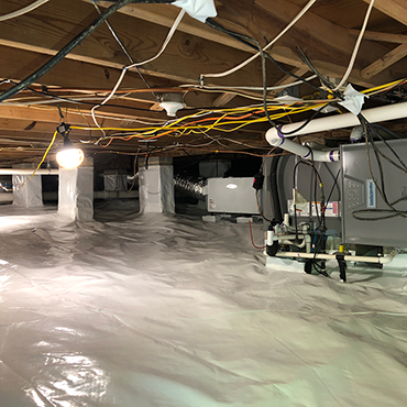Crawl Space Dehumidification | Dry Otter